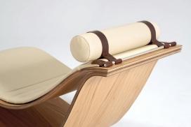 木质平躺睡椅