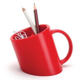 斜切面的铅笔杯和文具架-特拉维夫设计师Luka作品