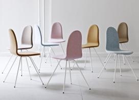 丹麦家具品牌Tongue经典舌椅子
