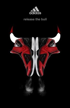 阿迪达斯adiZero3.0运动跑鞋设计