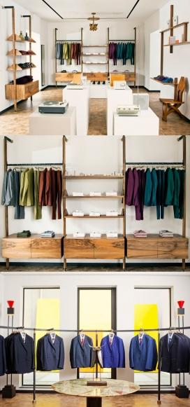 英国时装设计师保罗・史密斯2013新作-伦敦雅宝街服装专卖店
