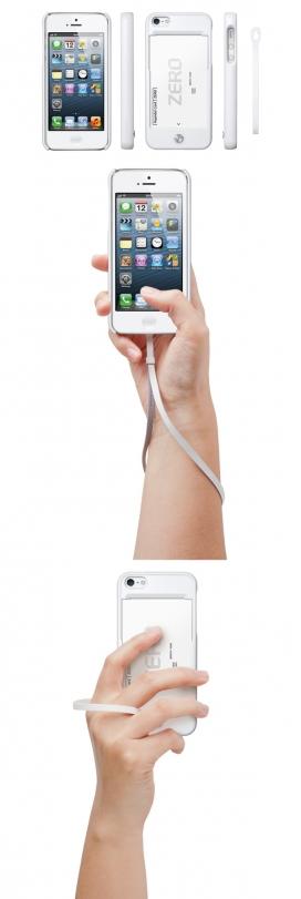 iPhone 5的新优化设计-为了免受外部冲击而改进设计的卡舱,