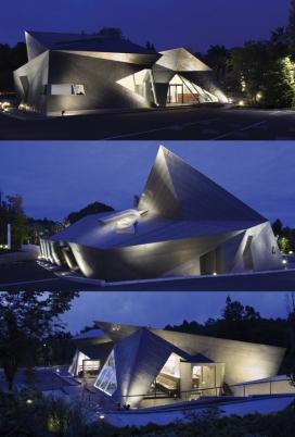 轻井泽博物馆-建立了日本艺术文化的设计理念