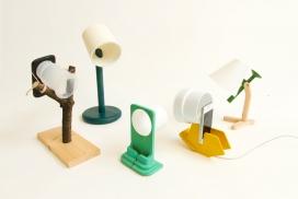伦敦设计节-毛边手机充电器-他们创造一个概念,结合了智能手机灯