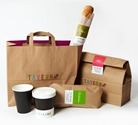 Taverna Brillo高档快餐餐厅美食品牌设计-灵感来自意大利厨房