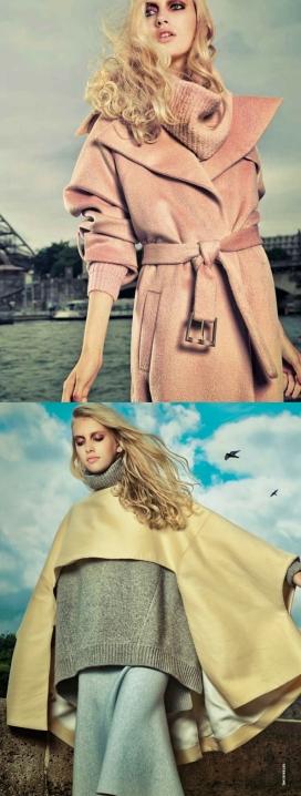一个温暖舒适的女装秀-漫步巴黎时尚-休闲又不失别致