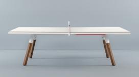 乒乓球桌-西班牙巴塞罗那工作室AntoniPallejà作品