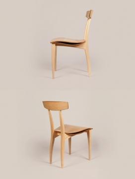 Dining木质餐椅设计