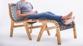 NOTWASTE环保睡椅家具-墨西哥设计