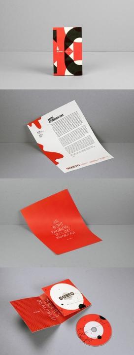 Gusto趣味影视制作公司品牌视觉身份设计