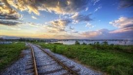美丽的铁路