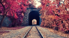 亚美尼亚埃里温铁路隧道公园
