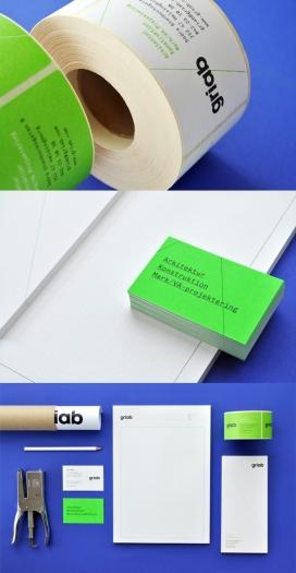 瑞典Griab楼宇建筑和土地规划品牌宣传册设计-Griabs视觉识别已经发生了彻底的重新设计,包括标志,印刷品,标牌和网站。新品牌灵感是建筑的直线和形状常启发
