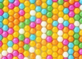 彩糖零食拼图壁纸
