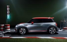 2014-MINI微型概念车正侧面壁纸