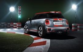 2014-MINI微型概念车正侧面尾部壁纸