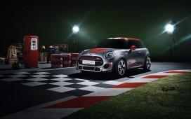2014-MINI微型概念车正侧面前面壁纸