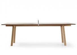 荷兰Richard Hutten(理查德・胡腾)的设计组合-会议乒乓球桌,可以很容易地转换为一场乒乓球比赛的会议桌。