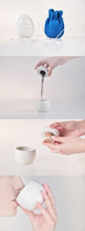 咖啡瓷-专为喜欢喝咖啡的爱好者设计,宜人紧凑的外形结合了两种功能,你可以随时随身携带咖啡与糖