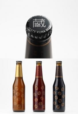 日本sekinoichi咖啡清啤酒包装设计欣赏