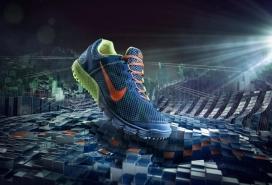NIKE耐克运动跑鞋设计
