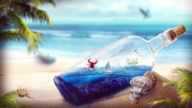 海洋漂流瓶