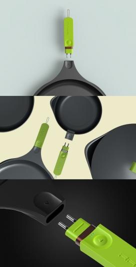 Ravy智能煎锅设计
