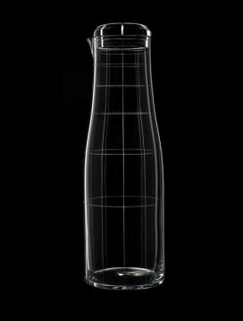 雕花玻璃器皿-新图案玻璃刻杯