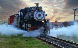 复古火车壁纸