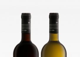 大胆现代复杂性的Achilles Heel葡萄酒设计