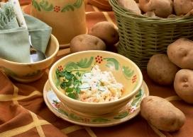 马铃薯咖喱美食