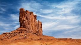 神奇的沙漠岩石