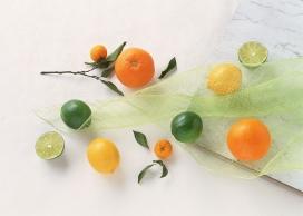 柠檬橘子壁纸