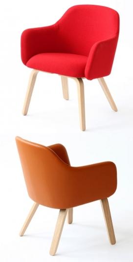 伦敦餐馆座椅设计