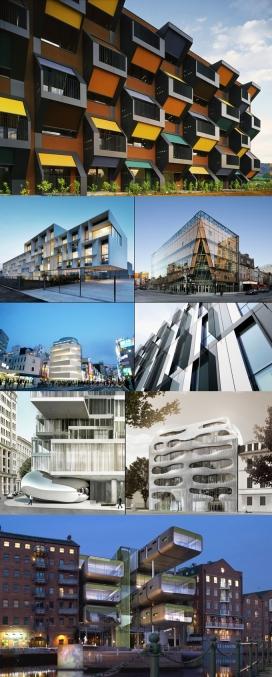 创意的世界住宅和商业房地产项目建筑奇观