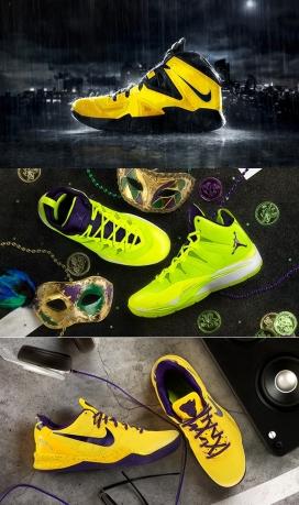 NIKEiD-耐克2014球员鞋设计欣赏