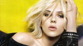 美国金发美女演员Scarlett Johansson(斯嘉丽・约翰逊)宽屏电脑壁纸下载