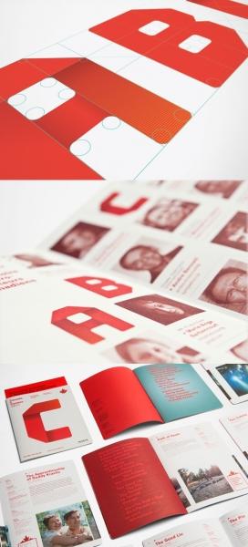 加拿大国际电视品牌宣传册设计