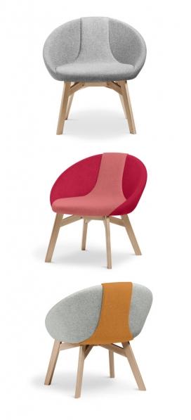 埃姆斯家具-德国Ames品牌推出的新纺织品家居设计-可以为您创造出完美现代的多功能产品空间-来自冰岛Erla Sólveig家具设计师作品,扶手椅的灵感来自一个瀑布,来庆祝她的家乡的自然美景