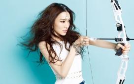 射箭手-高清女歌手范玮琪(Fan Fan)美女壁纸下载