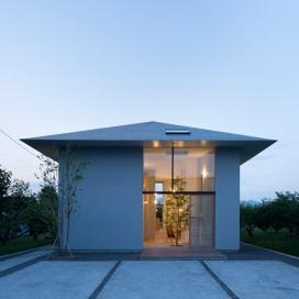 三角屋-位于日本岐阜县,最私密的客房,大规模列的隐藏空间设计