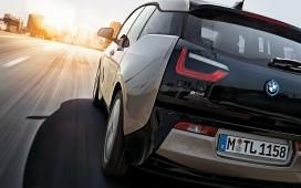 高清晰宝马全新纯电动BMW i3壁纸