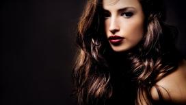 高清晰黑发美女gorgeous brunette布鲁内特壁纸