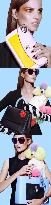 贝蒂弗兰卡-秋款袋为Dior杂志写真