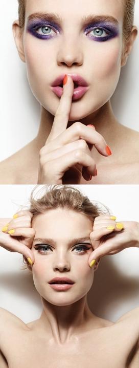 https://www.2008php.com/纳塔利娅・沃佳诺娃-眩晕美诱的艾格彩妆广告大片-五颜六色的眼影,浪漫的腮红色调