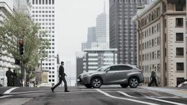 高清晰雷克萨斯-NX 300h城市越野车SUV汽车壁纸