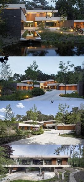 荷兰沙丘别墅酒店-带室内室外游泳池