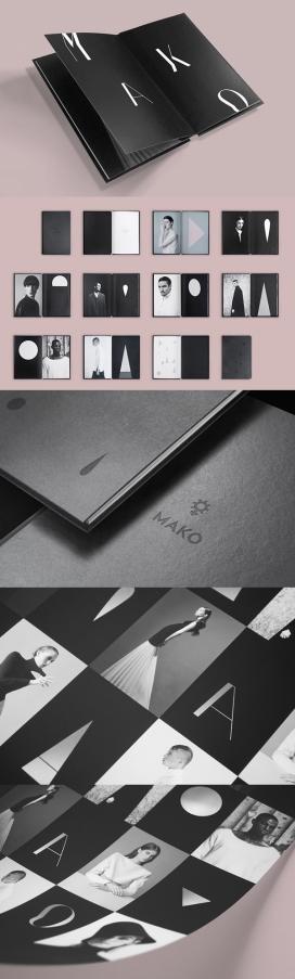 Mako Identity摄影师个人品牌宣传册设计