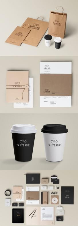Sukré Salé全新的连锁餐厅品牌设计-提供手工天然快餐,来自法国和瑞士的特别美味食谱,它的使命是在不牺牲品质和口感使人们寻找一种快速一顿健康的替代品
