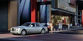 高清晰银色劳斯莱斯-幻影豪华汽车壁纸下载